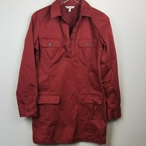 [Old Navy] Brick red dress , long sleeve size Med